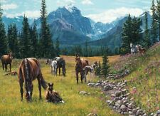 Horse Meadow 1000 pieces Jigsaw Puzzle Cobble Hill 80113