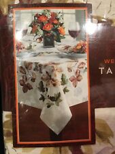 60 X 140 Fabric New Tablecloth Autumn Leaves Westwood Frame Bed Bath &