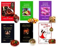 Sale - Pay For 5 Books & Get 6th Cookbook FREE by Helen M Radics