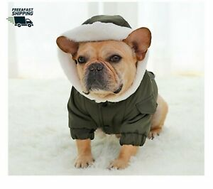 Puppy Clothes For Small Medium Dogs~ High Quality Out Wear Bulldog  Coat Jackets