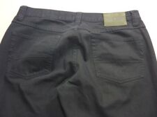 028 MENS EX-COND JAG CLASSIC FIT STR8 BLACK WASH JEANS SZE 36 REG $120 RRP.