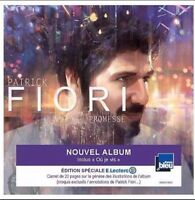 "PATRICK FIORI ""Promesse"" CD ALBUM EDITION LIMITEE + 1 Carnet 20 Pages ++ RARE ++"