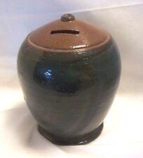Meister Studio Art Pottery Smash Money Christmas Box Pot Piggy Bank Swiss
