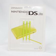 NEW Sealed ORIGINAL NINTENDO 3x GREEN Stylus for DS Lite Game Console GENUINE