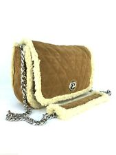 ZARA SUEDE LEATHER QUILTED SHOULDER CITY BAG HANDBAG RRP £79.99
