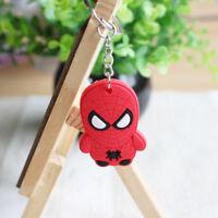 Lovely Fashion Cartoon Spider man Car Key Ring Chain  Keychain Keyring R #