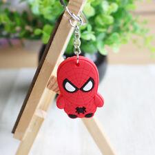Lovely Fashion Cartoon Spider man Car Key Ring Chain  Keychain Keyring S5#