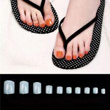 500Pcs Toe Nails Artificial Tips for Nail Art Fake Toenails Decoration Acrylic
