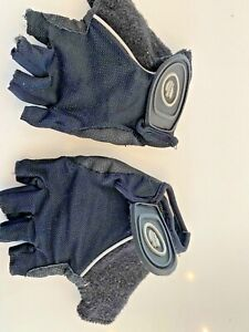 Black Gel Women's Cycling performance Gloves Size Medium