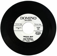 """PHIL FLOWERS with THE T.N.T. TRIBBLE COMBO  """"TWISTIN' BEAT""""  R&B    LISTEN!"""