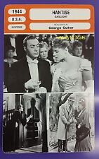 US Mystery Thriller Gaslight George Cukor Ingrid Bergman French Film Trade Card