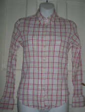 Hip Length Checked Long Sleeve NEXT Tops & Shirts for Women