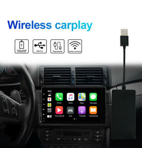Wireless CarPlay Dongle Bluetooth Smart Link Car Stereo GPS Android Auto Iphone