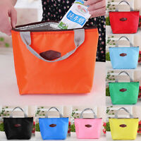 Portable Insulated Thermal Cooler Lunch Box Tote Picnic Storage Bag Pouch Bags A