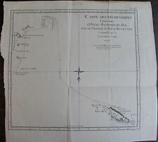 CARTES ATLANTIQUE SUD COOK CARTE ORIGINALE 1780 ISLES DE LA GEORGIE