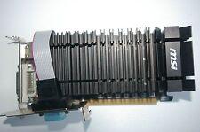 MSI NVIDIA GEFORCE GT610 GF119 1GB PHYSICAL MEMORY 1GB VIRTUAL MEMORY PCI-EX16 H