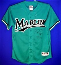FLORIDA MARLINS JUAN PIERRE AUTOGRAPHED MLB JERSEY