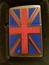 NEW - Zippo Lighter - 205 Planeta - UK Union Jack