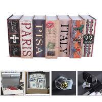 Dictionary Book Secret Safe Security Box Storage Money Cash Jewelry With 2 Keys