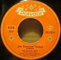 """Rudi Schuricke """"Der Zarewitsch"""" Lehár 7"""" Single Mono Vinyl Schallplatte 37764"""