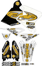 DRZ400SM 2015 Exhaust Graphic Kit Drz400s drz 400sm Shroud Plastic Decals drz400