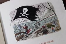 1946 Mac Orlan Piraterie Pirates Caraïbes A bord de l'Etoile Matutine 1/100 ex.