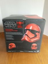 Star Wars The Black Series Captain Cardinal Electronic Helmet. Box Never Opened