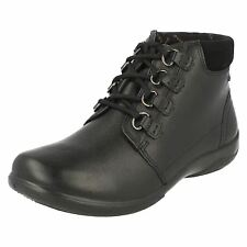 Padders Women's Journey Leather Tie Ankle Boot UK 5