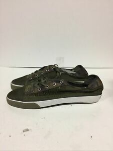 creative recreation shoes men Size Us 12 Kaplan Camo Olive Green Running Rubber
