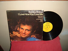 """BOBBY VINTON: I LOVE HOW YOU LOVE ME    12""""  33 RPM  LP ( song titles listed )"""