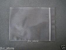 "500 Poly Ziplock Pouches Clear Zipper Bags 5"" x 7.5""_130 x 190mm"