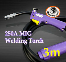 Binzel 15AK MIG/MAG/CO2 Welder Welding Machine Torch Gun Euro Connector 3 Meters