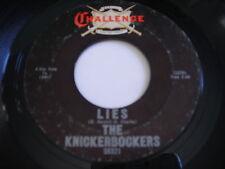 The Knickerbockers Lies 1966 45rpm