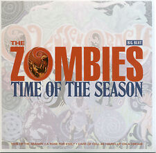 """ZOMBIES  """"TIME OF THE SEASON + A ROSE FOR EMILY + 2 MORE""""   EP  60's   LISTEN!"""