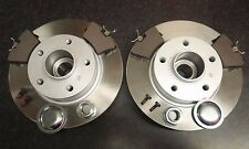 VAUXHALL VIVARO QUALITY REAR BRAKE DISCS AND PADS ABS RING & BEARING-CHECK SIZES