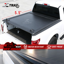 Retractable Aluminum Tonneau Cover For 2004 - 2020 Ford F-150 5.5' Truck Bed