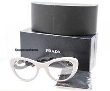 PRADA VPR 06Q QE0-1O1 Lavander/Havana Cateye Baroque RX Eyeglasses 49MM NWC