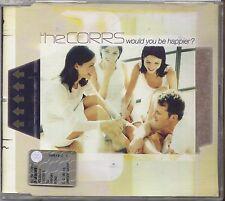 THE CORRS - Would you be happier? - CD SINGLE 2001 USATO OTTIME CONDIZIONI