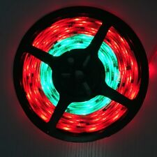 5M Waterproof WS2811 5050RGB Dream Color 30LED/M DC12V flexible Strip W/DC Plug