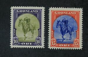 CKStamps: Finland Stamps Collection Scott#13 14 Mint NH OG