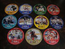 1992-93 Kraft---NHL Goaltender Discs---Near Set 25-36---Need 1 Card #31
