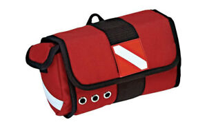 Cordura Padded Protect Mask Bag Scuba Diving Carry Case Red Dive Flag DP1085