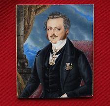 Bildnis eines hochgestellten Herrn m. kaiserlichem Leopold-Orden und and., 1840
