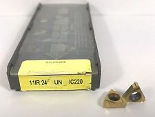 ISCAR 11IR 24 UN New Carbide Inserts Grade IC220 8pcs Y
