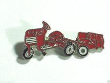 Vintage Murray Farm Tractor  Pedal Car Auto Automobile Pin Badge Red