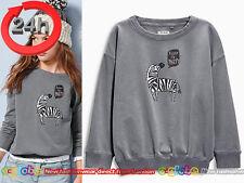 NEXT Pullover Strick Sweatshirt ZEBRA für Mädchen 7 Jahre 122cm