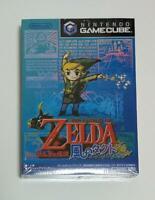 New The Legend of Zelda Wind Waker Kaze no Tact gamecube GC japan Sealed