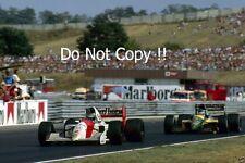 Gerhard Berger McLaren MP4/6 F1 temporada 1991 fotografía 2