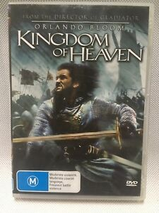 ORLANDO BLOOM KINGDOM OF HEAVEN CRUSADES Action Adventure Movie DVD