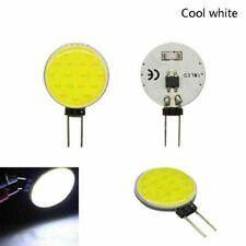 5pcs G4 20W LED Chip COB Light DC 12V Cool White Headlight Round Lamp Bulb Bead